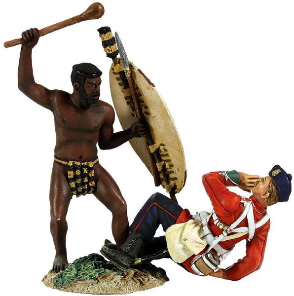 W Britain toy soldier Zulu War 20148