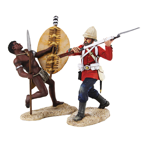 W. Britain Toy Soldiers Anglo-Zulu War 20162