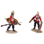 Historical Miniature Toy Soldier Zulu War Matte 20167