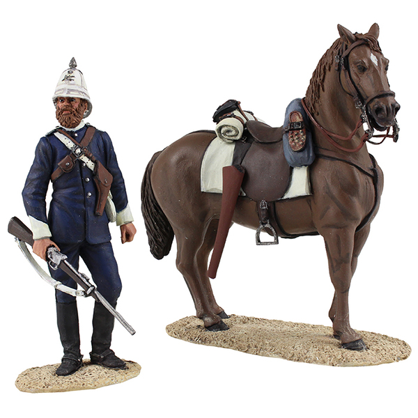Historical Miniature Toy Soldiers Zulu War Matte 20168