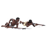 Historical Miniature Toy Soldier Zulu War Matte 20172