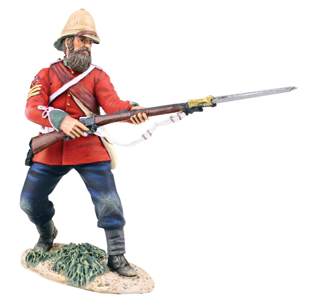 Historical Miniature Toy Soldier Zulu War Matte 20174
