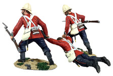 Historical Miniature Toy Soldiers Anglo-Zulu War Matte 20177