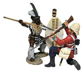 Historical Miniature Toy Soldier Zulu War Matte 20180