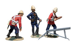 Historical Miniature Toy Soldiers Anglo-Zulu War Matte 20181