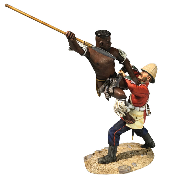 20192 - Zulu Attacking 24th Foot from High Position