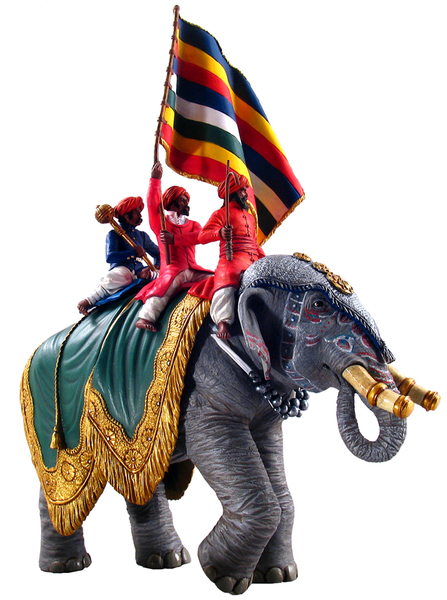 22000 -  Jaipur Elephant with Standard Bear