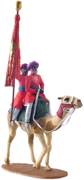 22009 - Emblem-Bearers of Cutch on Camel No.2