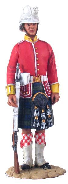 22010 - British 2nd Bn. Argyll & Sutherland Highlanders, Route Liner