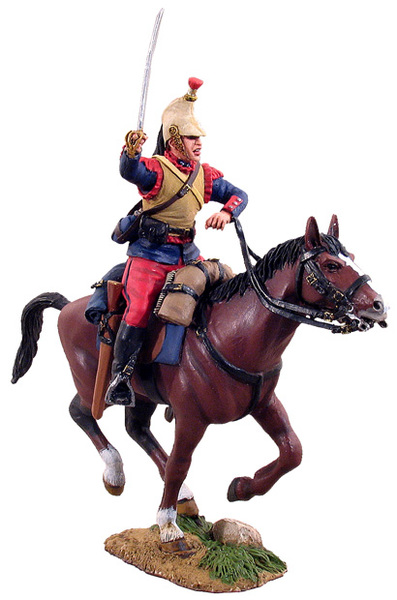 23007 - French Cuirassier Trooper Charging No.1, 1914