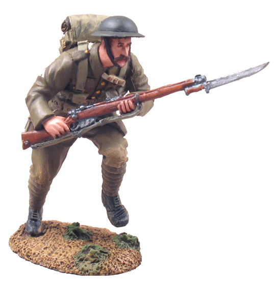 23014 - 1916 British Infantry Advancing No.1