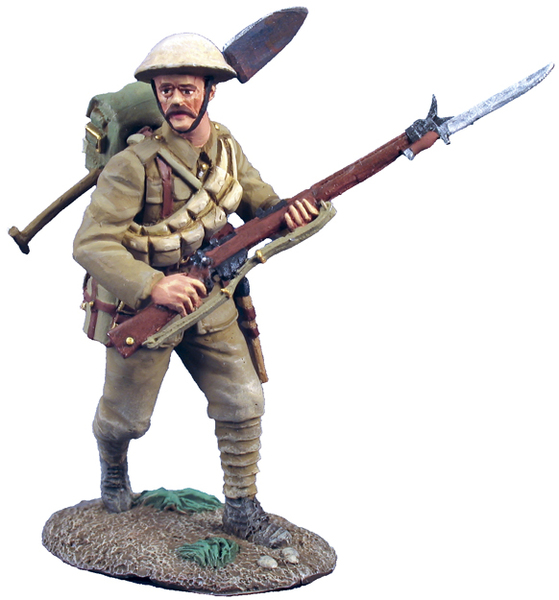 23030 - 1916 British Infantry Advancing No.2