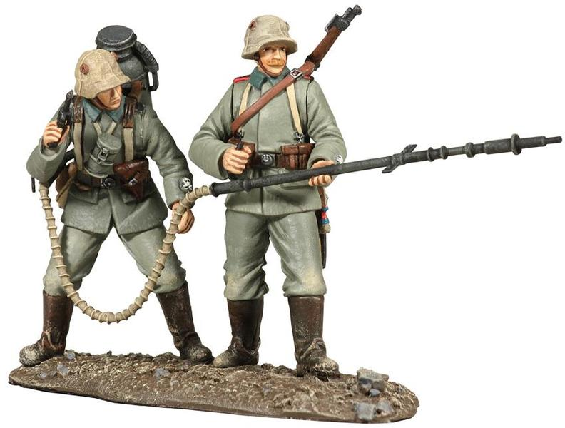 23043 - 1916 German Infantry Flamethrower Team No.1