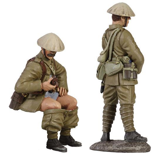"23045 - 1916 British Infantry Trench Lift Set No.1, ""When Nature Calls"""