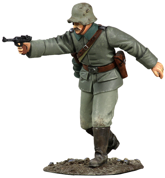 23048 - 1916 German Officer Advancing No.1