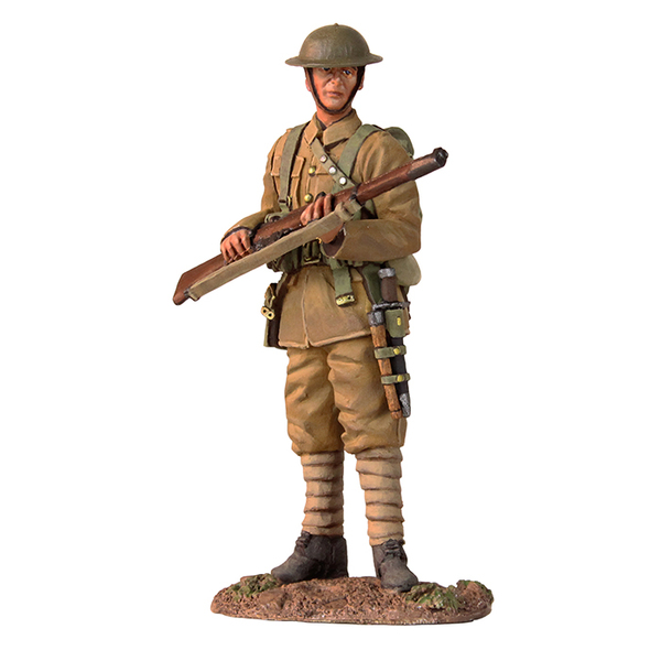 23074 World War I Matte Soldier
