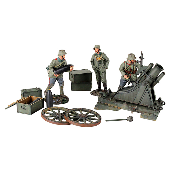23083 - 1916-18 German 170 cm Minenwerfer with Three Infantry