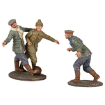 "More about the '23088 - ""A Friendly Game"" - 1914 Christmas Truce Soccer Set No.1, No Man's Land Soccer Match' product"