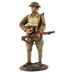 23091 World War I Matte Soldier