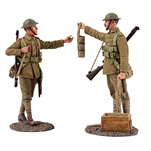 23099 World War I Matte Soldiers
