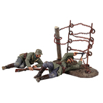 23100 World War I Matte Soldiers