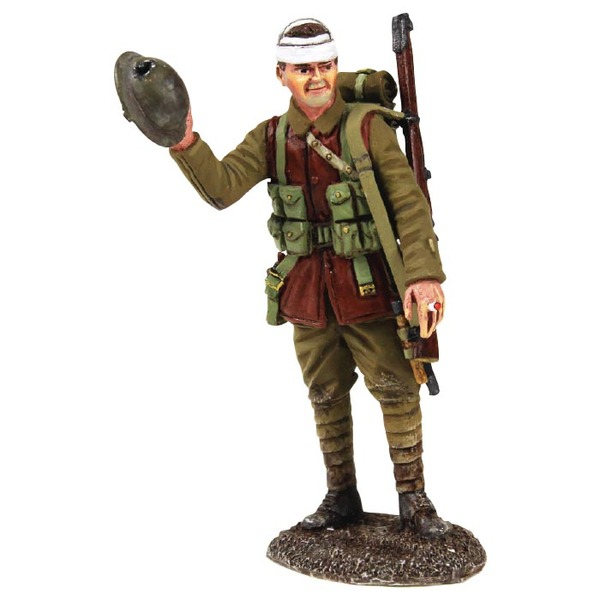Historical Miniature Toy Soldier World War I Matte 23112