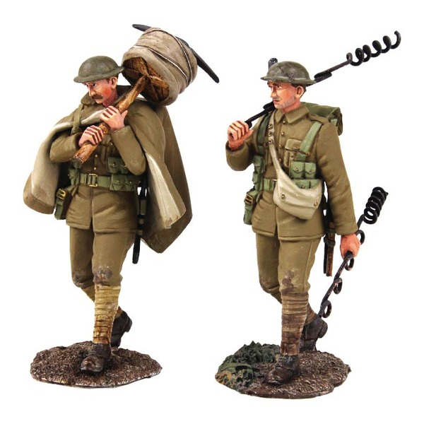 Historical Miniature Toy Soldier World War I Matte 23113