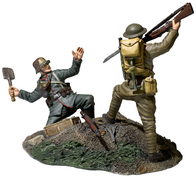 Historical Miniature Toy Soldiers World War I Matte 23114