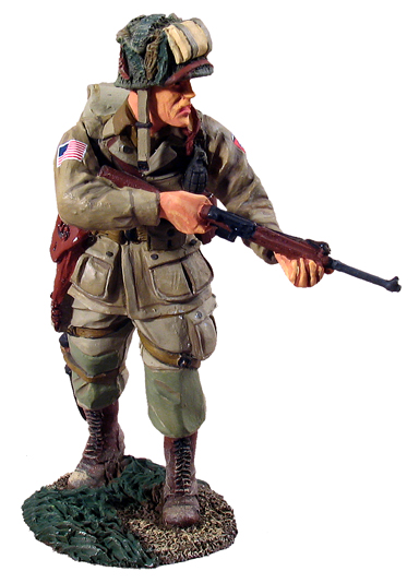 1st Lt 376th Parachute 82nd Airborne Normandy W Britain 25006 US Army Airborne