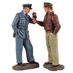 W. Britain Toy Soldiers World War II, WWII 25029