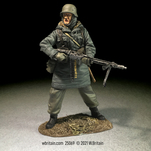 25069 - Waffen SS Grenadier in Kharhov Parka with MG42