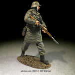 More about the '25071 - Waffen SS Rifleman in Kharkov Parka Advancing with Caution' product