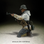 More about the '25114 German Grenadier in Parka Kneeling Firing Stg44, No.3' product