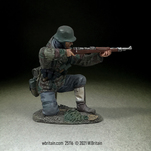 25116 - German Grenadier Kneeling Firing K98, 1942-45