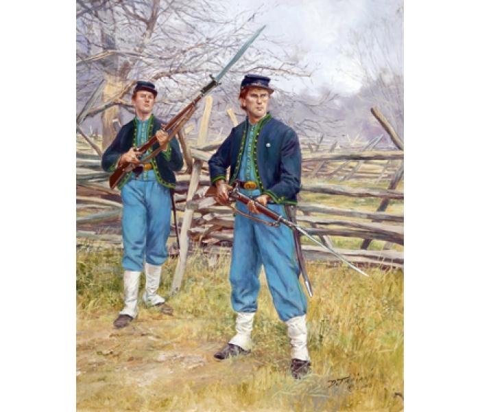 26r12 26rcg 69th pennsylvania irish volunteer infantry backer