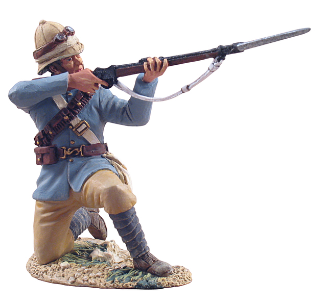 27001 - British Dismounted Camel Corps Trooper Kneeling Firing No.1