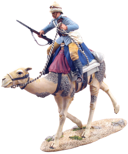 27010 - British Camel Corps Trooper, Mounted, Charging No.1