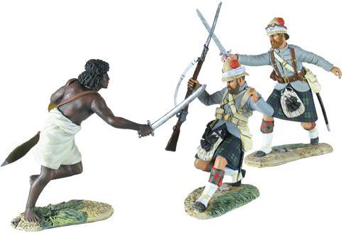 27012 W Britain toy soldier War Along the Nile