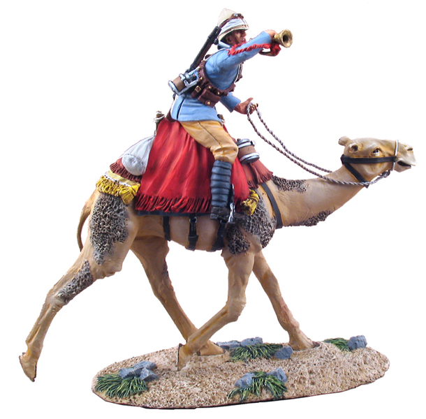 27042 - British Camel Corps Bugler, Mounted, Charging No.1