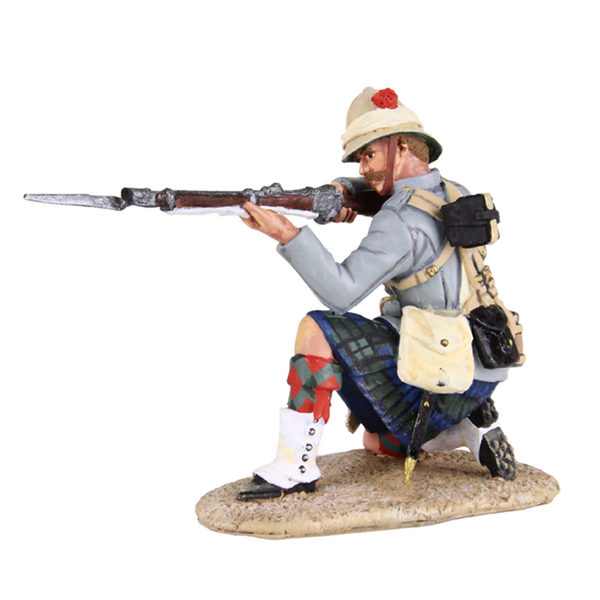 27062 - British 42nd Highlander Kneeling Firing