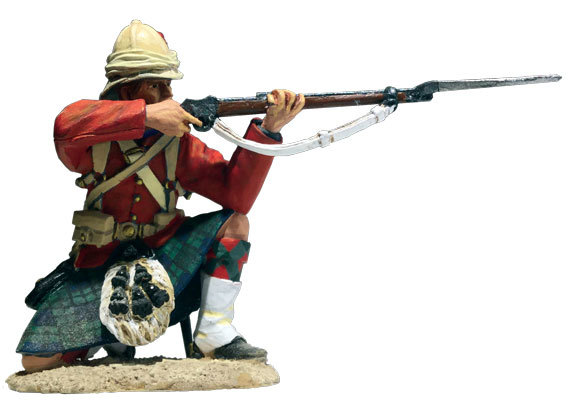 27063 - 42nd Highland Kneeling Firing No.2