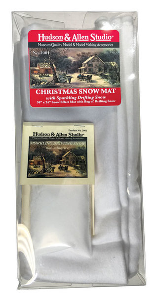 Christmas Snow Mat