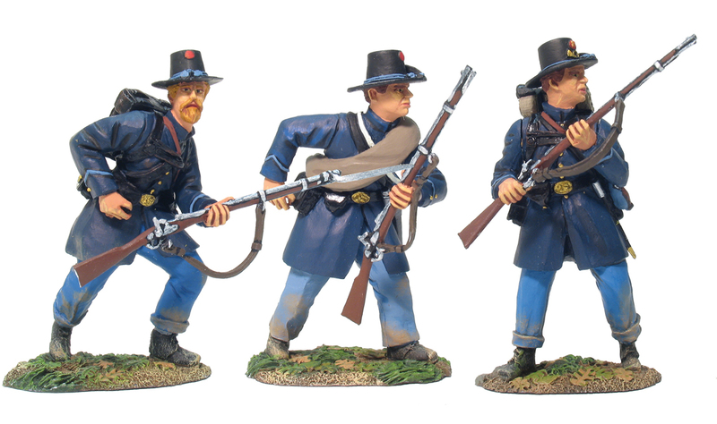 Britain W Civil War Confederate Infantry At-The-Ready #1 31005 ACW