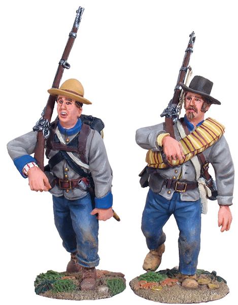 31008 - Confederate Infantry Marching Set No.1