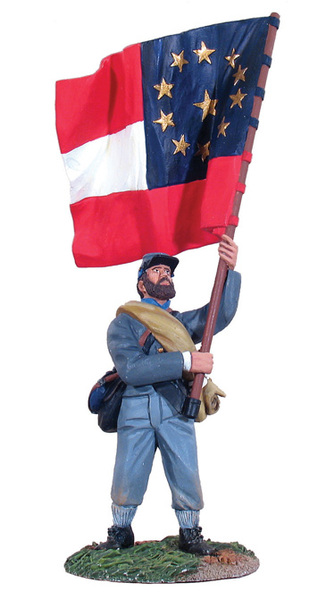 31014 - Confederate Infantry Regimental Flagbearer No.4, 1st Maryland