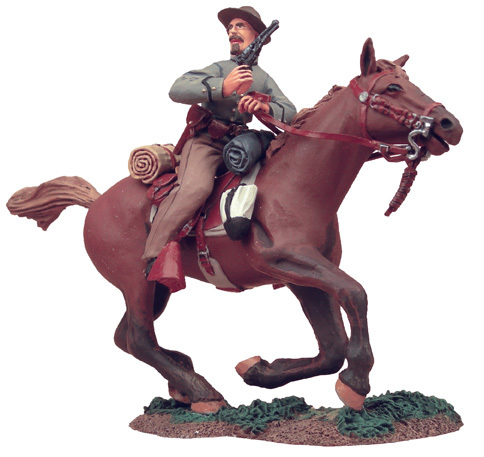 31016 - Confederate Cavalry Trooper Charging with Pistol No.1