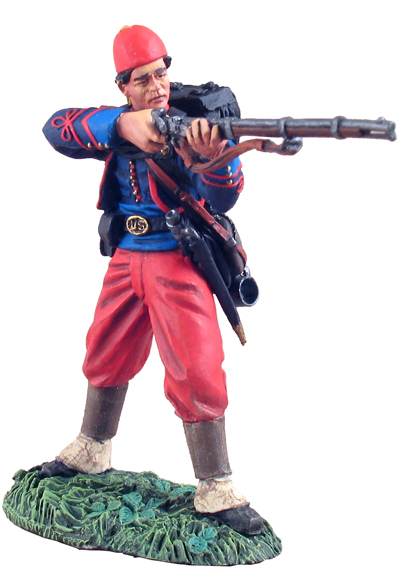 31101 - Union Infantry 114th Pennsylvania Zouaves Standing Firing No.1