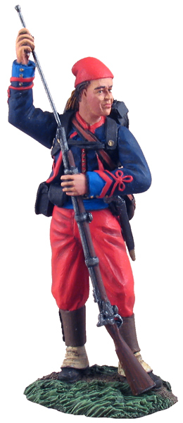 31102 - Union Infantry 114th Pennsylvania Zouaves Standing Ramming Cartridge No.1