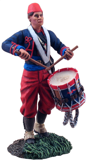 31107 - Union Infantry 114th Pennsylvania Zouaves Drummer No.1