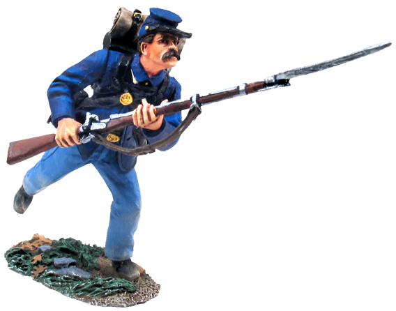 W Britain toy soldiers Civil War 31127